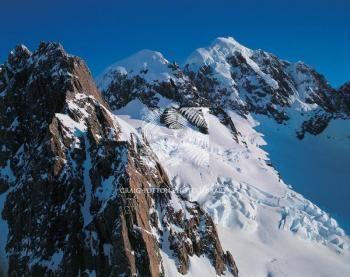 North ridge of Mount Haast, Craig Potton photography