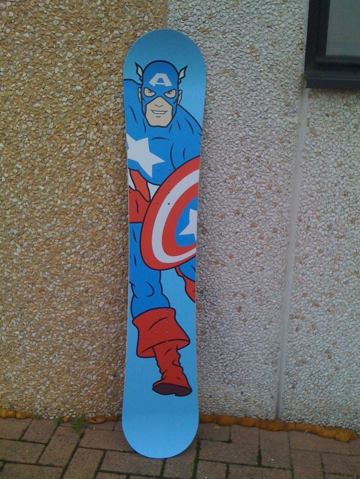 Snowboard decoration