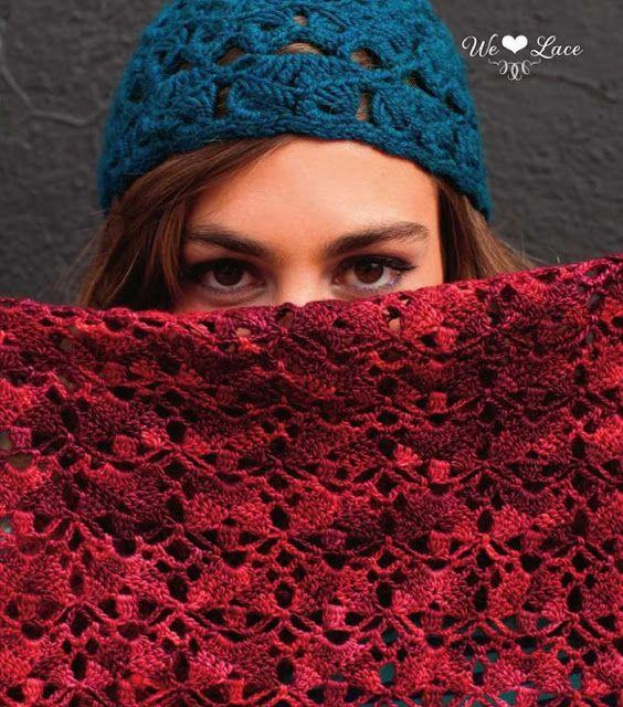 Mejores 22 imágenes de Bufandas a Crochet en Pinterest | Tejer ...