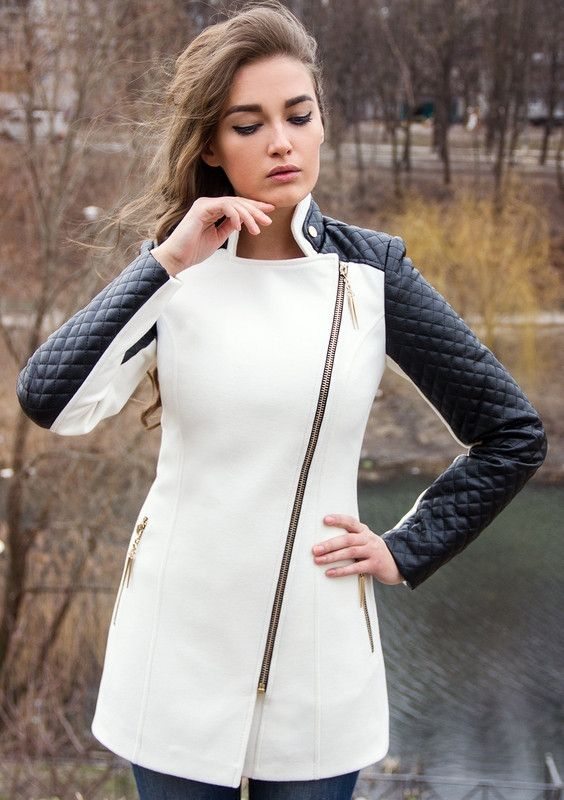 вначале картинки пальто с кожаными рукавами тну, ширину