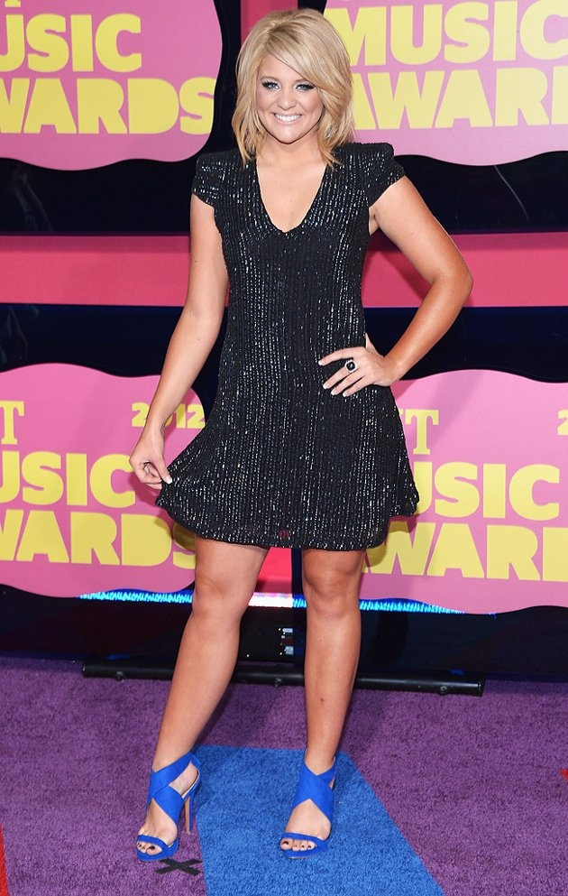 """Season 10 """"American Idol"""" runner-up Lauren Alaina has had quite the year, touring with the show's live tour last summer, releasing her first album, which hit the top five on the Billboard chart, and now attending the CMT Music Awards. Not bad for a 17-year-old!"""