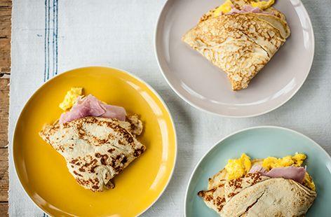 (h)ham and eggs with potato pancakes Great British Chef TESCO
