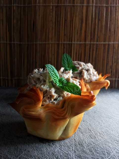 SLELLY: IL NIDO CADUTO - Nidi di pasta phyllo con crema di...