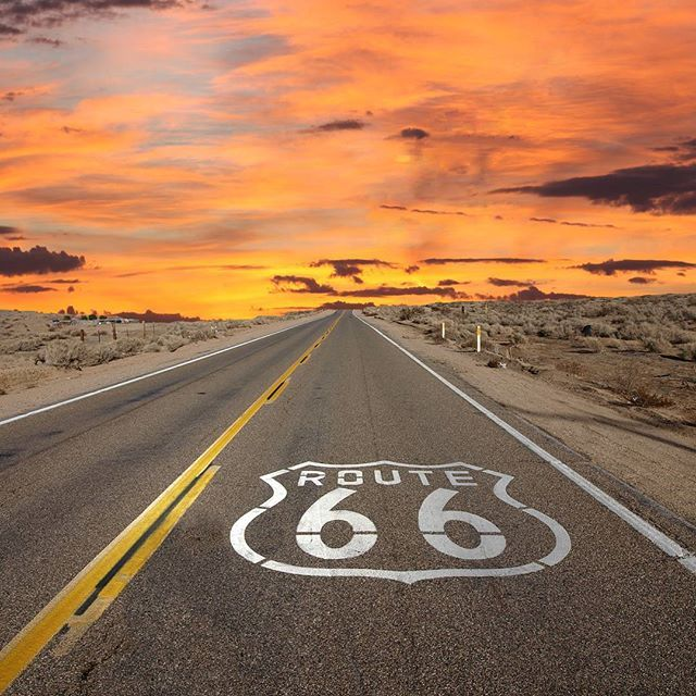 Planning our summer trip. Next stop: Route 66. Follow us on Instagram and let's #routetogether!