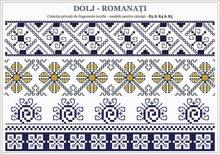 Romanian traditional motifs - OLTENIA