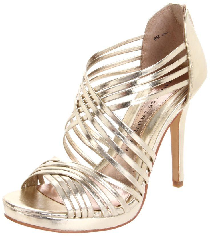 Chinese Laundry Women's Imagine Sandal,Light Gold,5 ...