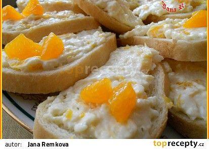 Pomerančové chlebíčky recept - TopRecepty.cz