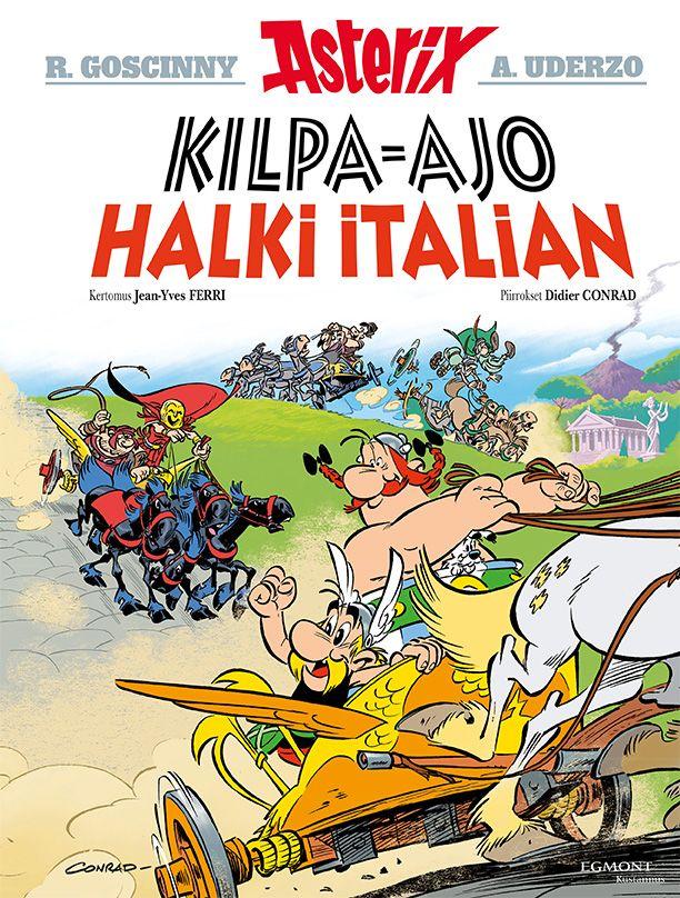 Uusi Asterix lehtipisteissä ja kirjakaupoissa 26. lokakuuta 2017! #sarjisparhaus #Asterix  #matkailu