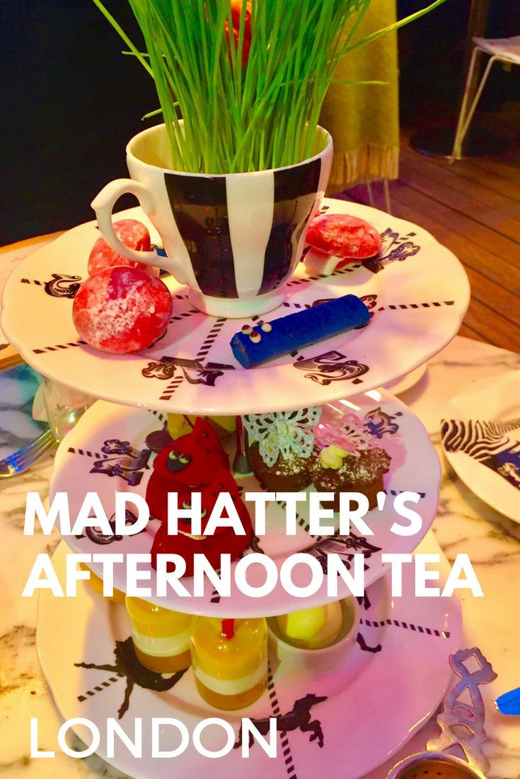 After the ultimate afternoon tea in London? Look no further - head to the Sanderson Hotel for an Alice in Wonderland afternoon tea extravaganza!
