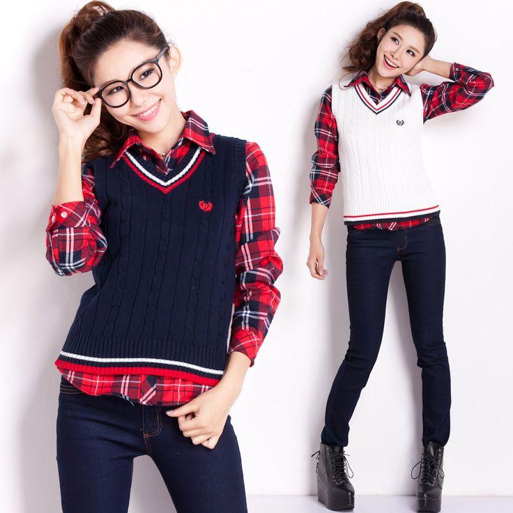https://ae01.alicdn.com/kf/HTB185hqKFXXXXXsXFXXq6xXFXXXq/Free-Shipping-Slim-sweet-preppy-style-women-s-V-neck-pullover-thickening-100-cotton-sweater-vest.jpg