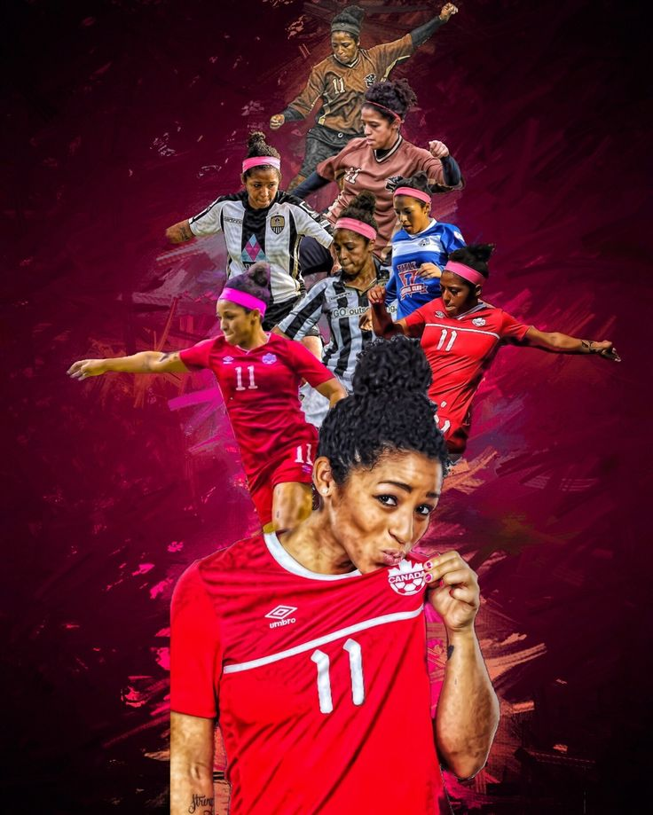 Desiree Scott (The Destroyer) (From University of Manitoba to FC Kansas City + CanWNT)