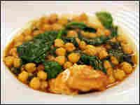 Moorish-style chickpea and spinach stew