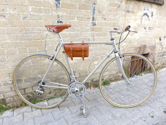 Gratis envío  bolso de cuero bicicleta  bicicleta bolsa
