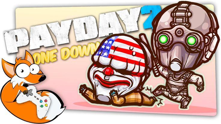 PAYDAY 2 - ТВОЮ МАТЬ! Я!   ОГРАБЛЕНИЕ БАНКА - ONE DOWN - Угар! http://youtu.be/ZUtPNRN-M3c