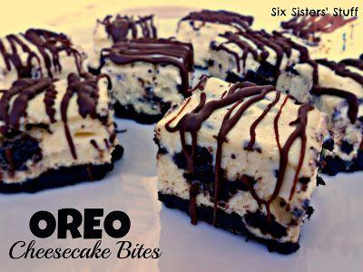 Oreo Cheesecake Bites Recipe – Six Sisters' Stuff