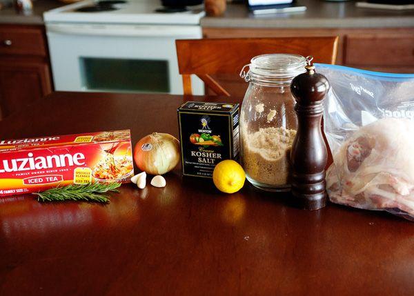 Sweet Tea Brined Chicken | Recipe | Sweet Tea, Teas and Chicken ...