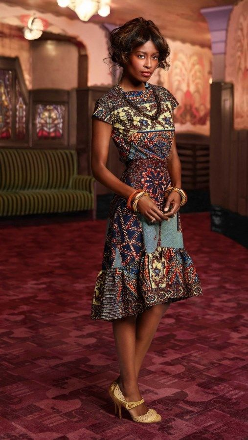 Vlisco ~ African Style ~African fashion, Ankara, kitenge, African women dresses, African prints, African men's fashion, Nigerian style, Ghanaian fashion ~DKK
