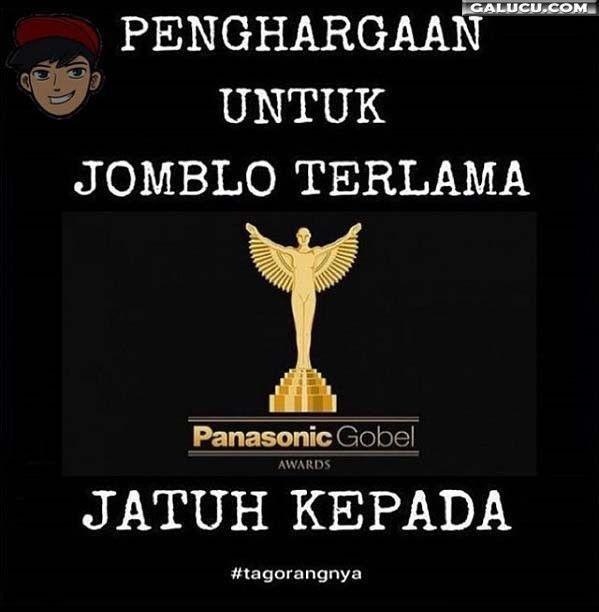 Penghargaan untuk jomblo terlama #GambarLucu
