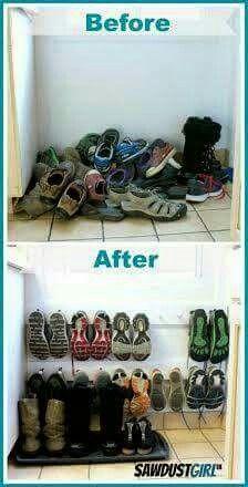 Organizador zapatillas