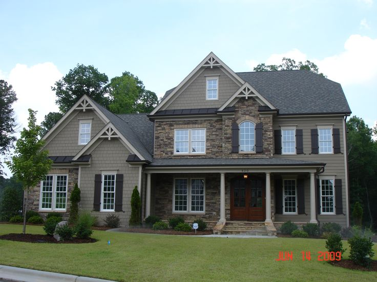 Craftsman Style Home Shutters