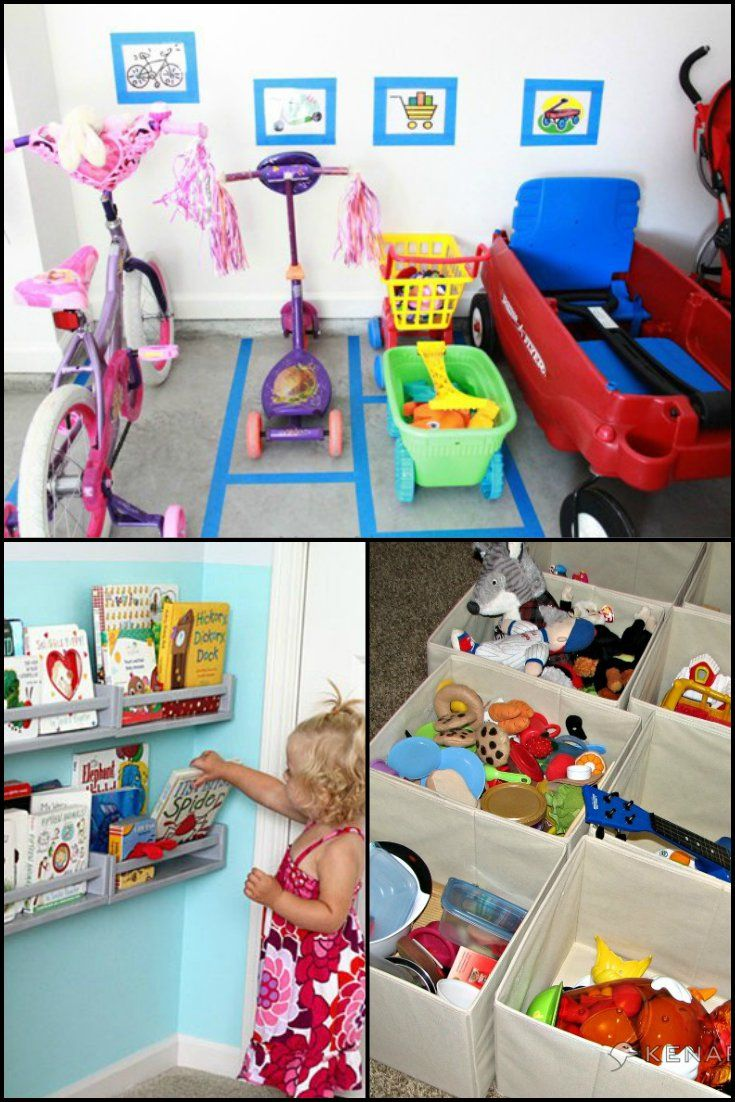 """15 Practical Ways To Deal With Your Kids' Toys!  http://theownerbuildernetwork.co/ntvp  How many times have you heard – """"I can't find my…"""" Teaching kids organizational skills from a young age benefits them AND you.  Here's some toy storage ideas that helps you teach your kids to put things away so they can find them!"""