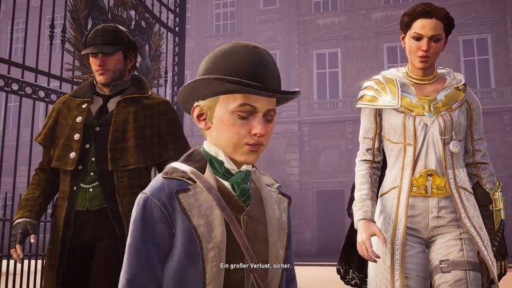 """Plattform: Playstation 4 Pro  Gespielt wird in Assassin's Creed Syndicate die Groschenroman-Verbrechen: """"Mord im Palast!"""". Teil 2 von 2."""