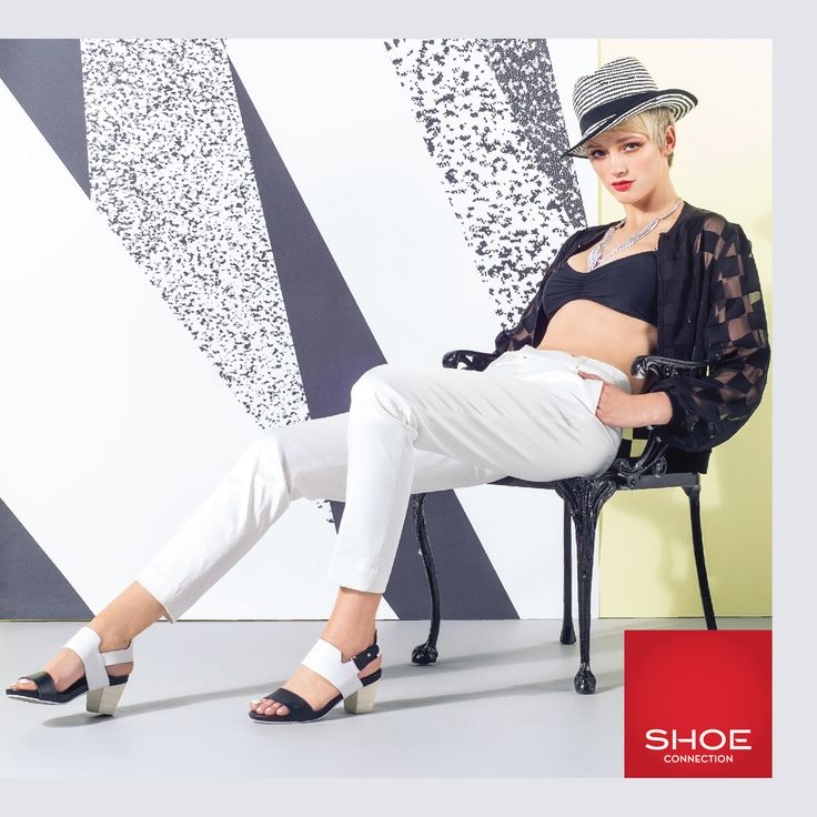Shoe Connection Spring/Summer 14/15 Campaign. Shoes - 90's - Black and White. Shop: http://www.shoeconnection.co.nz/