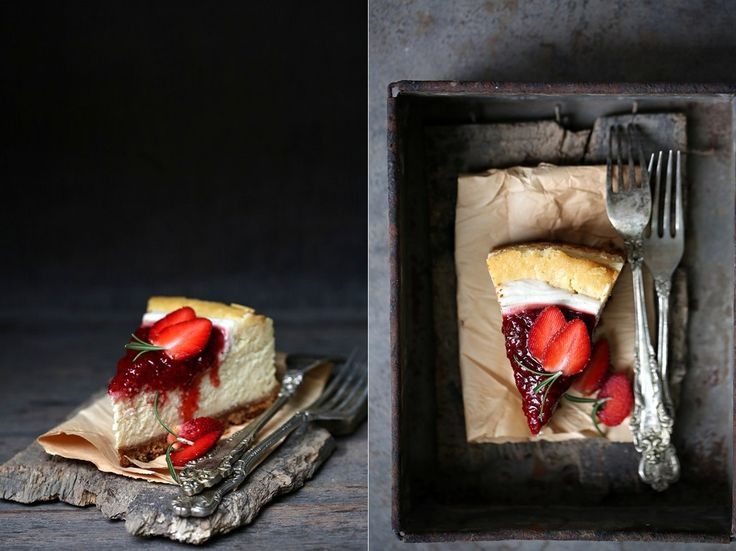Baking | Baked White Chocolate Cheesecake with Mascarpone & Strawberries ... BEST CHEESECAKE EVER - Passionate About Baking