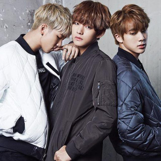 TAEHYUNG 150924 BTS for Star1 Magazine w/ #RAPMONSTER #JIN