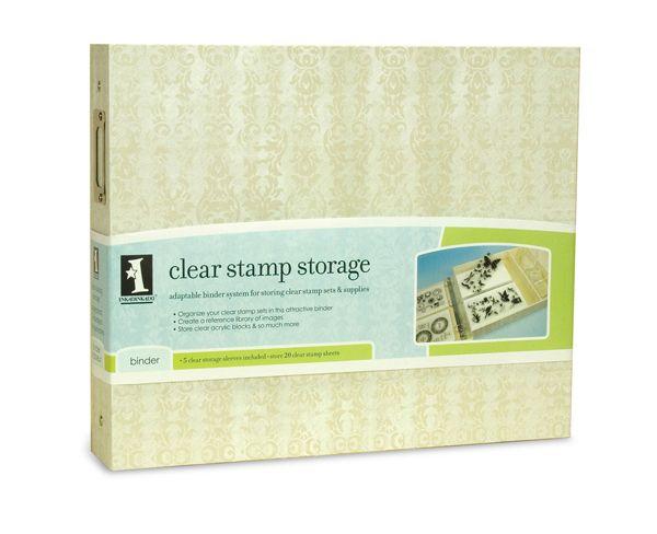 Clear Stamp Binder