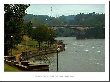 Columbus Georgia, Chattahoochee River Walk