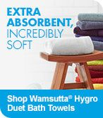 Extra Absorbent, Incredibly Soft - Shop Wamsutta Hygro Duet Bath Towels