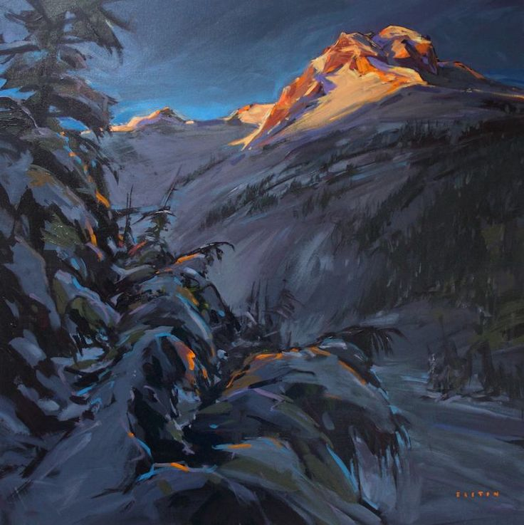 'First Light on Joffre' by Charlie Easton