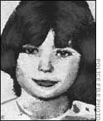 """10 yr old Mary Bell's mug shot. Brian Howe had been found strangled. The toddler had puncture marks on his thighs, an """"M"""" had been carved on his belly and his genitals had been partially skinned. Chief suspects were 10-year old Mary Bell and 13-year old Norma Bell; both girls were incarcerated at the Newcastle West End police station. They were both eventually brought to trial for the murder of Martin Brown and Brian Howe on December 5th, 1968. Mary received the sentence of """"Detention for…"""