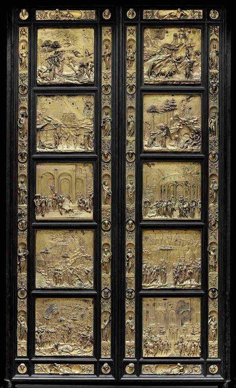Lorenzo Ghiberti · Porta del Paradiso · 1425-52 · Museo dell'Opera del Duomo · Firenze