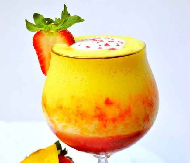 Pineapple Upside Down Cake Daiquiri   29 Frozen Drinks To Put On Your Summer Bucket List