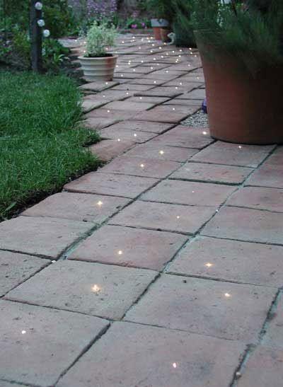 A Starry Garden Path, DIY