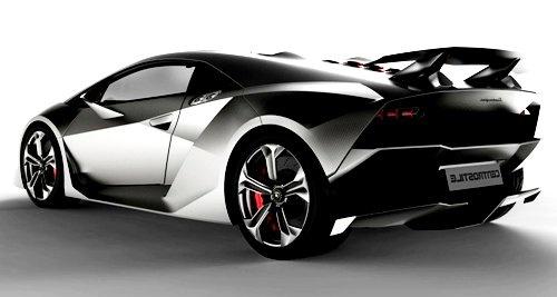 Lamborghini Sesto Elemento Concept Car