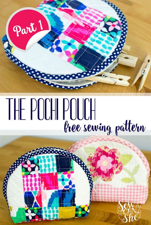 Free Pattern and Tutorial: The Pochi Pouch {part 1} — SewCanShe | Free Daily Sewing Tutorials