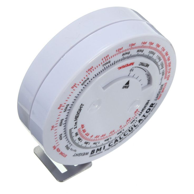 High Quality BMI Body Mass Index Retractable Tape Measure & Calculator For Diet Weight Loss New Arrival