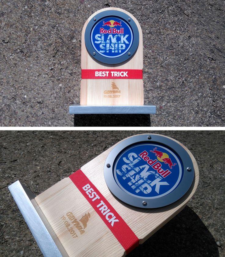 Red Bull SLACK SHIP 2017 - best trick trophy