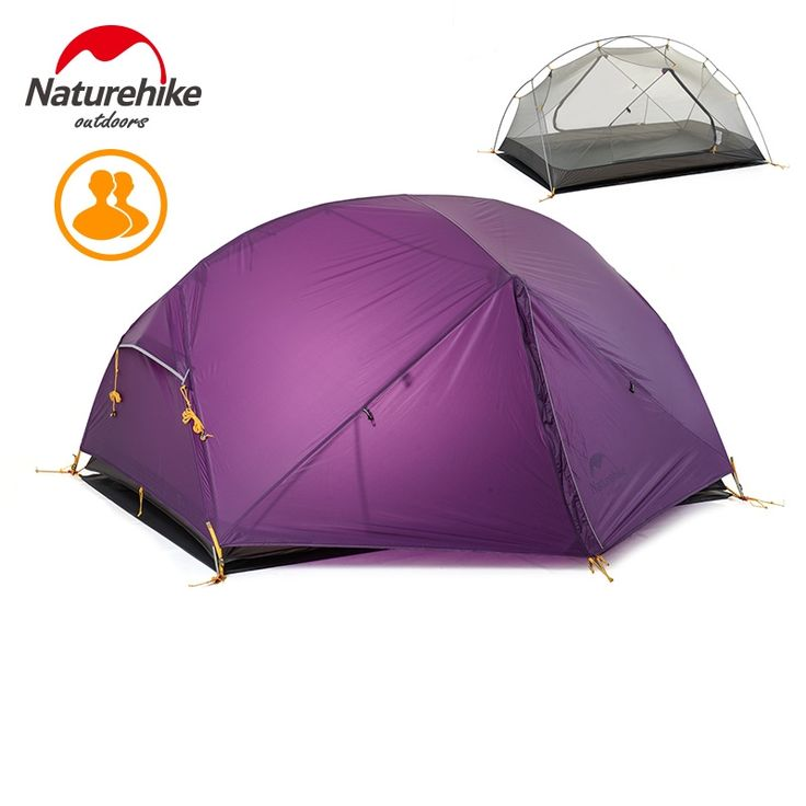 140.50$  Watch now - http://aliams.shopchina.info/1/go.php?t=32814654586 - Naturehike 3 Season Camping Tent 20D Nylon Fabric Double Layer Waterproof Tent for 2 Persons for camping garden fishing  #SHOPPING