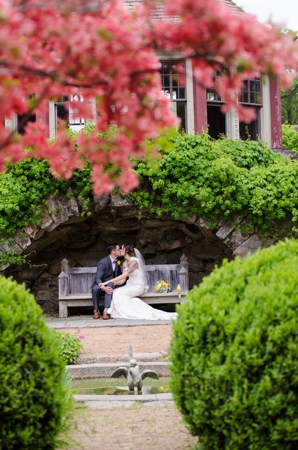 A photo of a wedding at The Estate at Moraine Farm