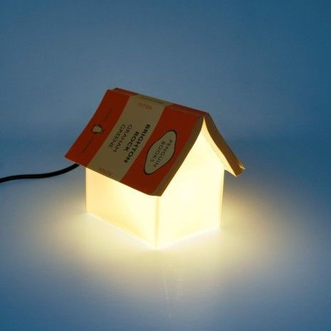 Book rest lamp   snowhome