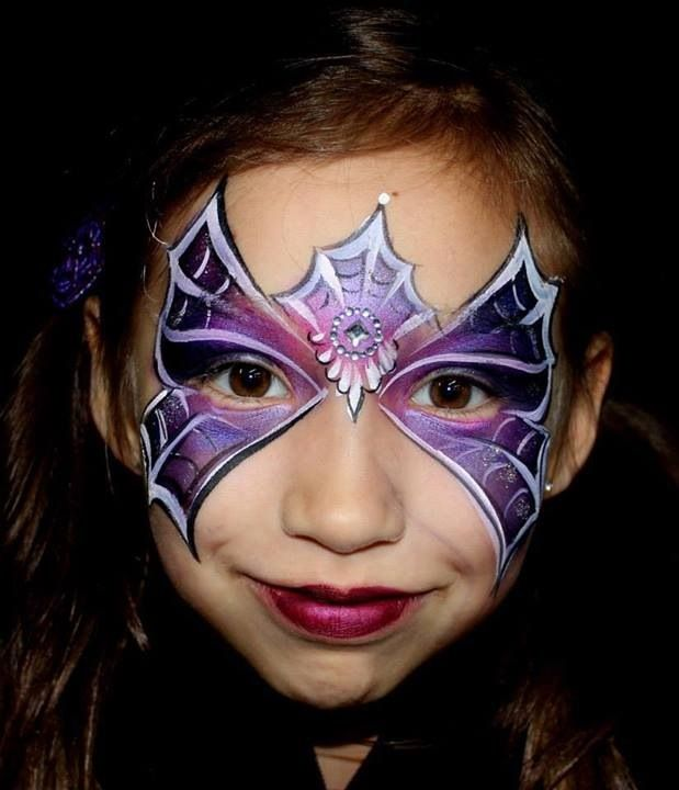 57 best halloween face paintings for kids images on. Black Bedroom Furniture Sets. Home Design Ideas