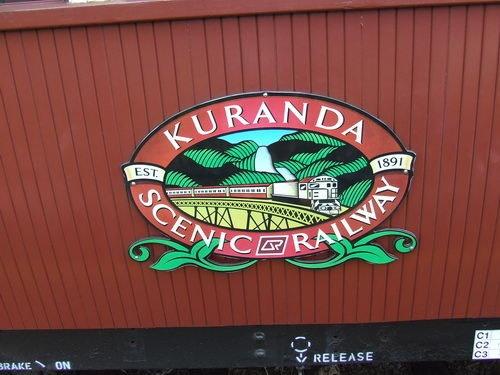 Kuranda Scenic Railway Car Queensland Australia