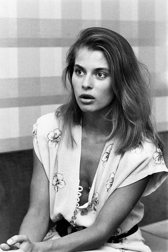 Nastassja Kinski, photographed by Christian Simonpietri in