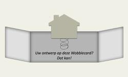 Een originele kaart als uitnodiging waar een plaatje uit springt. Ideaal voor een verhuisbericht, jubileumuitnodiging, direct mail of uitnodiging voor een beurs http://www.locomix.nl/bedrijven/wobble-card/