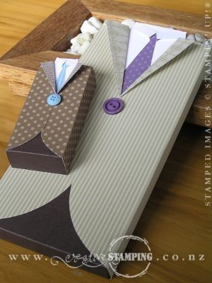 Suit Boxes, clever and easy way to present a gift