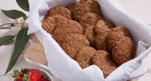 These biscuits are as Aussie as they come and we love this yummy recipe from Erin Made This.  #snack #australianfood #recipe